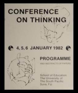 International Conference on Thinking - 1982-suva-fiji